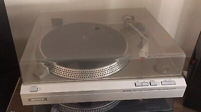 Vintage SONY Turntable PS-313FA Fully automatic Direct Drive Fully Working