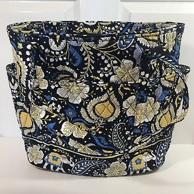 c26a1d8291 New Vera Bradley Go Round Tote in Ellie Blue