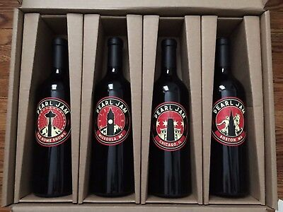 PEARL JAM Home x Away Shows Limited Edition Underground Wine Project 450 Made!