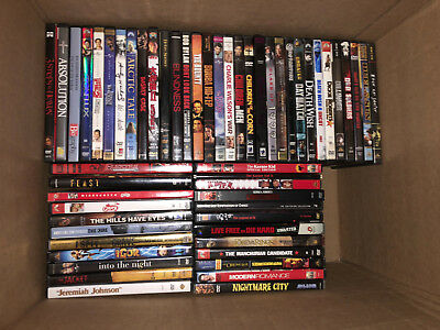 150 Dvd & 5 Blu-Ray Lot Sci-Fi Cult Horror Criterions Special Editions Box Sets