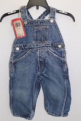 Little Levi's Vintage Toddler 1 YR Jean Overall Made in the USA EUC MSRP $150