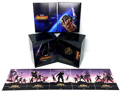 Avengers Infinity War Blufans Steelbook Collectors Magnetic Box Only + Artcards