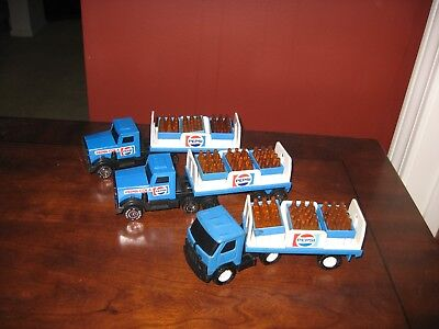 Vintage Pepsi Semi Toys Lot Of 3