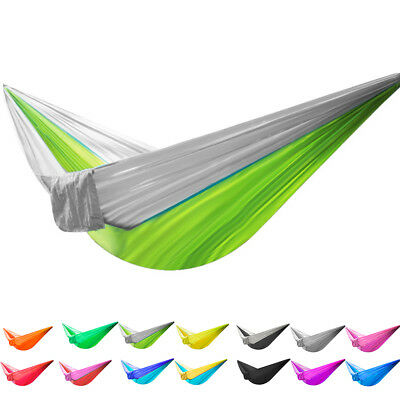 Hammock Hiking Carry Bag Hook Single Person Portable Traveling Outdoor Garden