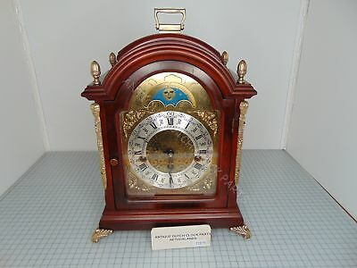 Walnut Zaanlandse Warmink Westminster Table Or Bracket Clock