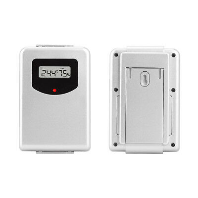 433MHz Wireless Weather Station With Forecast Temperature Digital Thermometer BD