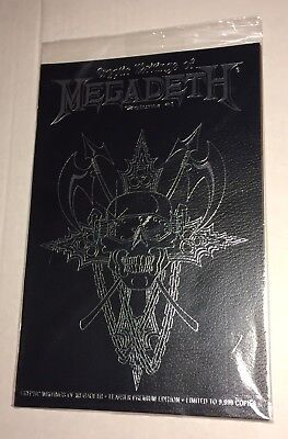 Cryptic Writings of Megadeth #1 Leather Premium Limited Edition Chaos
