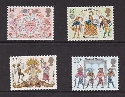 GB 1981 Europa Folklore Set Mint Never Hung VGC
