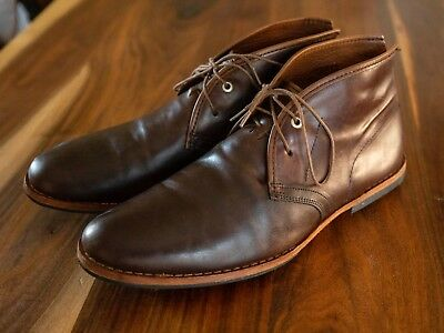 a71177db12b Timberland Boot Company Wodehouse Leather Chukka Boots Burnished Brown Men  11 M