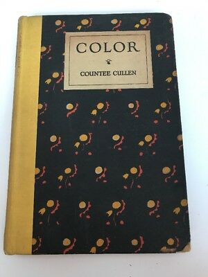 COLOR,1925,Countee Cullen,1st Ed