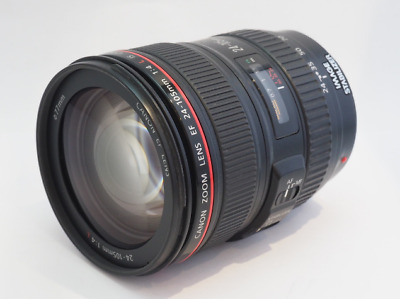 Excellent Condition Canon EF 0344B002 24-105mm f/4 IS L AF USM Lens