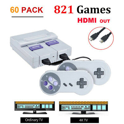 Mini SNES 821 Classic Games Edition Super Nintendo Console Entertainment System