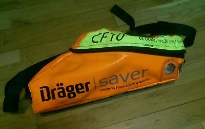Drager Saver CF10 - Emergency Escape Breathing Apparatus (Soft Case) 1