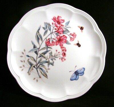 "Lenox BUTTERFLY MEADOW Accent Luncheon Plate(s) ""Swallowtail"" EXCELLENT"