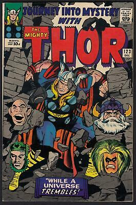 Journey Into Mystery With Thor #123 VFN