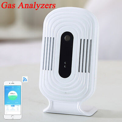 Gas Analyzers Air Quality Monitor Formaldehyde Sensor Meter Digital Detector