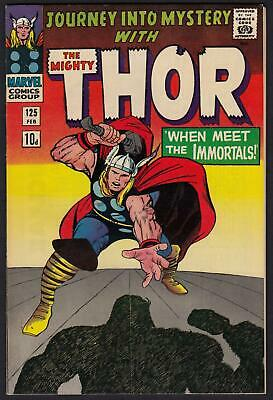 Journey Into Mystery With Thor #125 VFN+