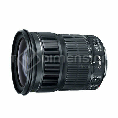 Canon EF 24-105mm f/3.5-5.6 IS STM Bulk (White Box) Stock in EU Authenti