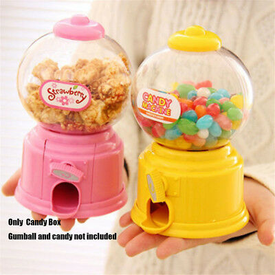 Machine Sweets Cans Candy Gumball Dispenser  Money Boxes Saving Coin Bank