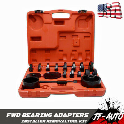 Heavy Duty Ball Joint Press & U Joint Removal Tool Kit with 4wd Adapters