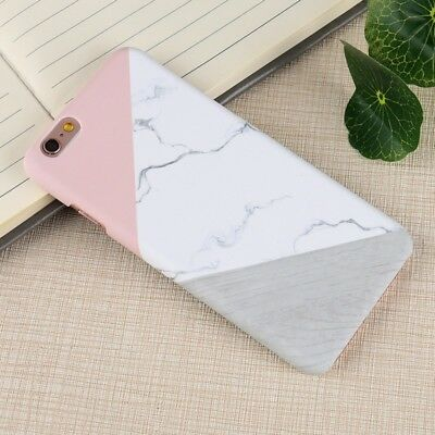 For Huawei P8 P9 P10 Lite Ultra-Thin Granite Marble Hard Shockproof Cover Case