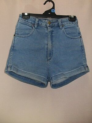 1990's Vintage High Waisted Shorts with Cuffs.