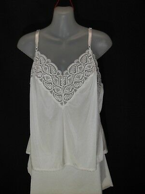 1960's Vintage Camisole with Lace Trim.