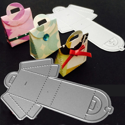 Metal Cutting Dies Christmas Wedding Gift Box for Scrapbooking Paper Card Craft