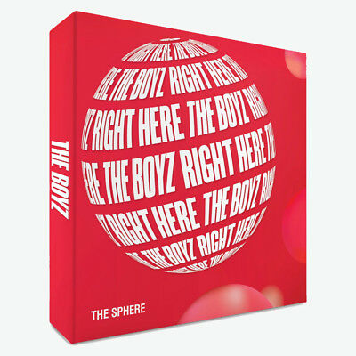 THE BOYZ [THE SPHERE] 1st Single Album REAL CD+POSTER+P.Book+2Post Card+Card+etc