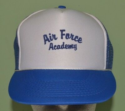 VINTAGE SNAPBACK AIR FORCE baseball cap hat military trucker mesh ... bd68514d53fc