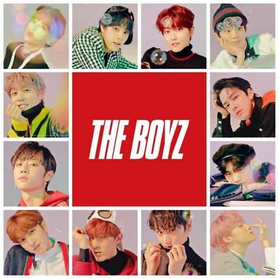 THE BOYZ [THE ONLY] 3rd Mini Album 2 Ver SET+1POSTER+2Photo Book+2Card+2Film+etc