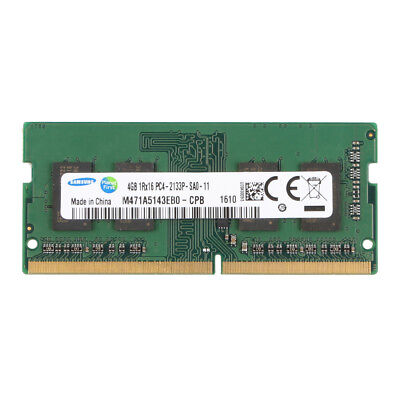 For Samsung DDR4 4GB 1Rx16 PC4-2133P 17000 2133MHz Laptop RAM Memory SO-DIMM @5H
