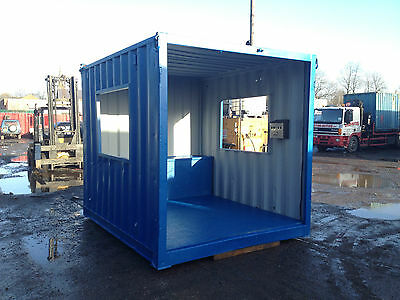 10ft x 8ft Smoking Shelter Storage Container - North Wales