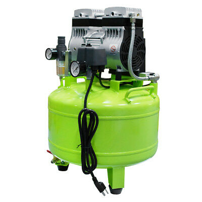 40L Dental  Low vibration Noiseless Oil Free Oilless Air Compressor for 2 chairs