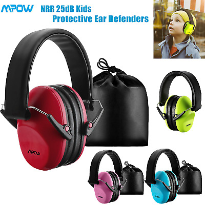 Mpow Folding Kids Childs Baby Ear Muffs Defenders Protector Noise Reduction 25dB