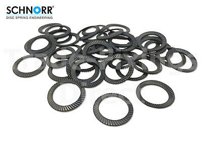 Schnorr Serrated Saftey Locking Washers Type S Disc Spring Washers