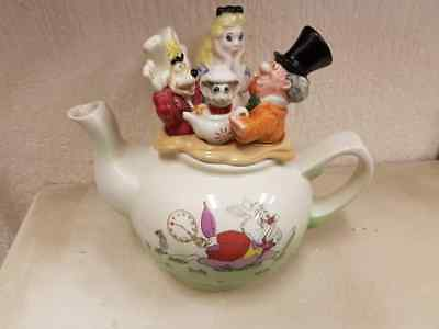 P Cardew 1996 ALICE IN WONDERLAND Walt Disney Teapot NUMBERED 222 of 5000 VGC