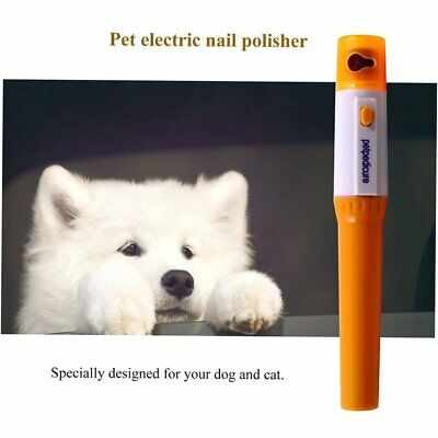 Pet Pedicure Tool Electric Pet Grinder File Pet Dog Cat Paw Toe Nail Trimmer ND