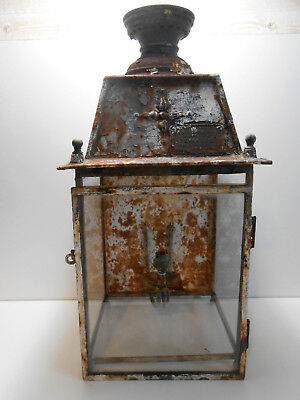 Lanterne Chemin De Fer Ouvrard Villars Paris / Train / Antique Railroad Lantern