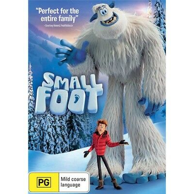 SMALL FOOT-DVD-Region 4-New AND Sealed