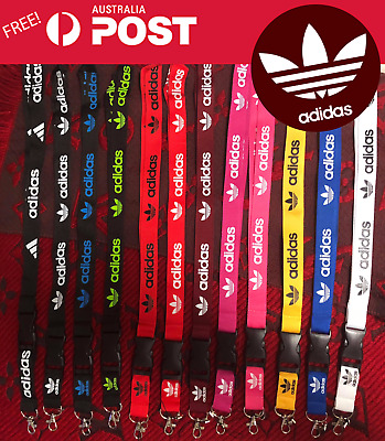 Adidas Lanyard (Various Colours) clothes neck strap for ID security card USB key