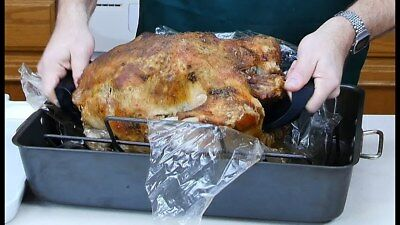 Large Roasting Bags Microwave Oven Cooking Poultry Chicken Turkey Meat Fish