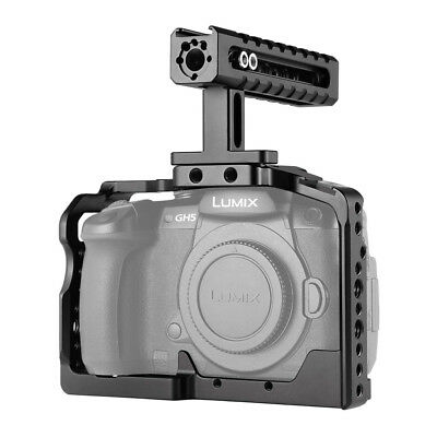 SmallRig Camera Cage Kit for Panasonic Lumix GH5/GH5S with Top Handle Included