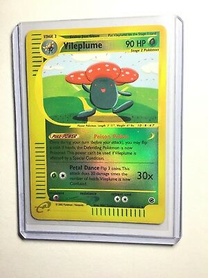 POKEMON EXPED ENG HOLO N°  31//165 VILLEPLUME