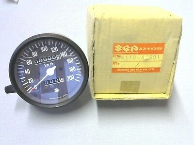 Suzuki GS-400C  NEW GENUINE SPEEDO METER 34110-44601/2/3  KILOMETER