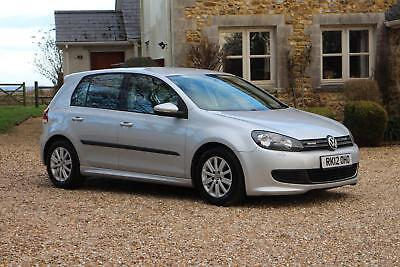 2012 Volkswagen Golf 1.6 TDI 105 BHP BLUEMOTION Tech 1 Owner Full VW Service