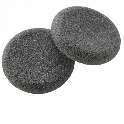 Lot of 2 Plantronics 15729-05 Replacement Headset Foam Ear Cushion (1 Pair)