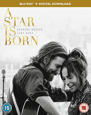 A Star is Born (2018) (Blu-Ray) Bradley Cooper, Lady Gaga, Andrew Dice Clay