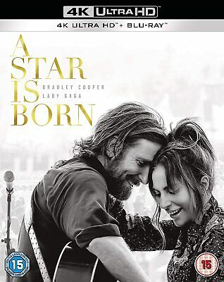 A Star is Born (2018) (4K Ultra HD) Bradley Cooper, Lady Gaga, Andrew Dice Clay