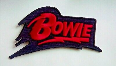 David Bowie Patch Embroidered Iron On Or Sew On Badge